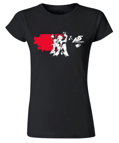 Persona 5 - Group Jrs T-Shirt L, an officially licensed product in our Persona T-Shirts department.
