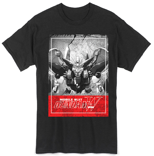 Gundam Wing - Wing Gundam Men's T-Shirt L, an officially licensed product in our Gundam Wing T-Shirts department.