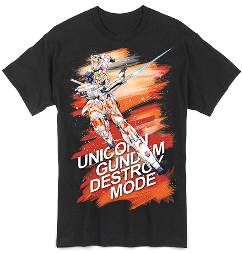 Gundam Uc - Rx0 Destroy Men's T-Shirt L officially licensed Gundam Uc T-Shirts product at B.A. Toys.
