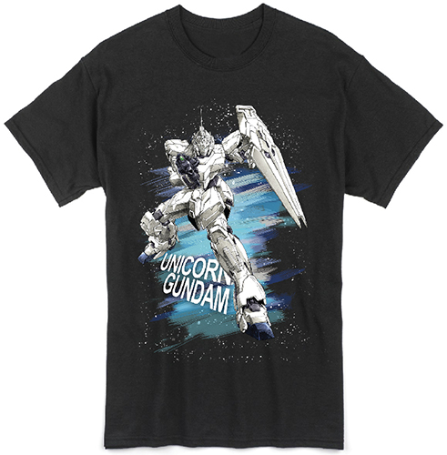 Gundam Uc - Rx0 Unicorn Men's T-Shirt L officially licensed Gundam Uc T-Shirts product at B.A. Toys.
