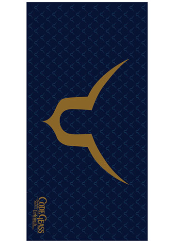Code Geass Lelouch's Geass Symbol Towel, an officially licensed product in our Code Geass Towels department.