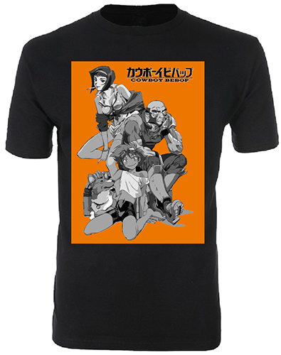 Cowboy Bebop - Group Men's T-Shirt L, an officially licensed product in our Cowboy Bebop T-Shirts department.