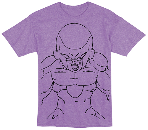 Dragon Ball Z - Frieza Line Art T-Shirt L officially licensed Dragon Ball Z T-Shirts product at B.A. Toys.