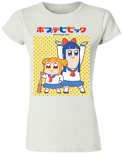 Pop Team Epic - Popuko & Pipimi Jrs. T-Shirt L, an officially licensed product in our Pop Team Epic T-Shirts department.