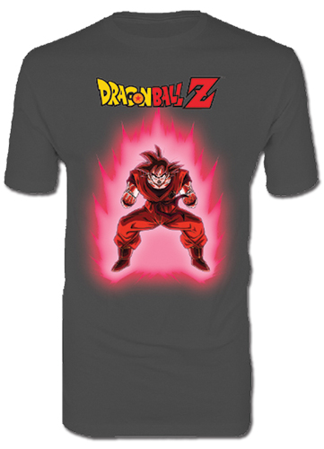 Dragon Ball Z - Kaioken Men's T-Shirt L officially licensed Dragon Ball Z T-Shirts product at B.A. Toys.