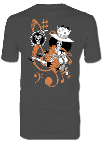 One Piece - Brook Men's T-Shirt S, an officially licensed product in our One Piece T-Shirts department.
