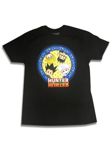 Hunter X Hunter - Sd Group Men's T-Shirt L, an officially licensed product in our Hunter X Hunter T-Shirts department.