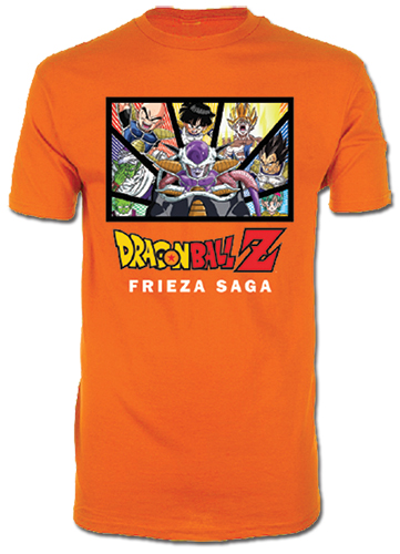 Dragon Ball Z - Frieza Saga T-Shirt L officially licensed Dragon Ball Z T-Shirts product at B.A. Toys.