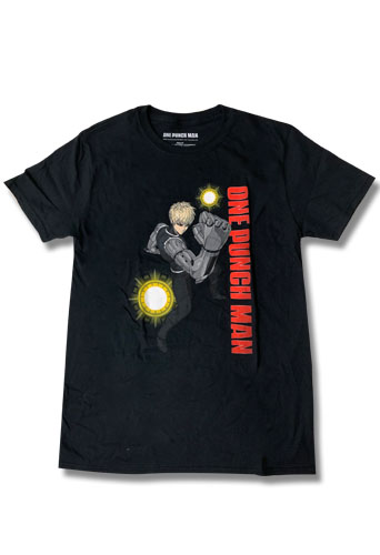 One Punch Man - Genos Men's T-Shirt L, an officially licensed product in our One-Punch Man T-Shirts department.