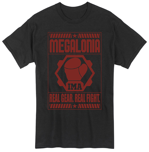 Megalobox - Real Gear Real Fight T-Shirt L, an officially licensed product in our Megalobox T-Shirts department.