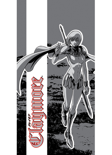 Claymore Clare Towel officially licensed product at B.A. Toys.