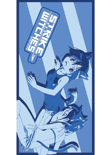 Strike Witches Yoshika & Francesca Towel, an officially licensed product in our Strike Witches Towels department.