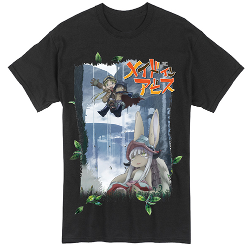 Made In Abyss - Group Men's T-Shirt L, an officially licensed product in our Made In Abyss T-Shirts department.