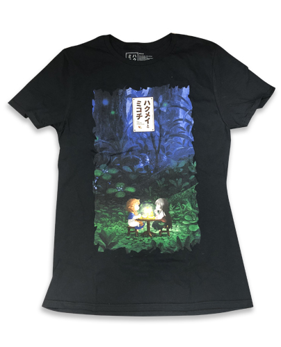 Hakumei & Mikochi - Group Men's T-Shirt L officially licensed Hakumei & Mikochi T-Shirts product at B.A. Toys.