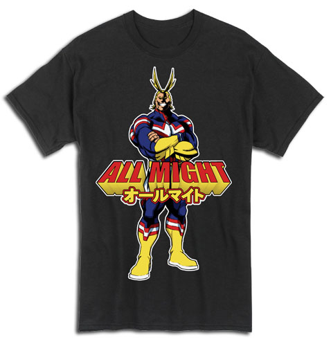 My Hero Academia - All Might T-Shirt S officially licensed My Hero Academia T-Shirts product at B.A. Toys.
