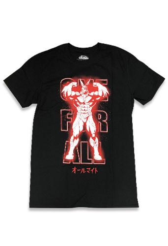 My Hero Academia - All Might Men's T-Shirt S officially licensed My Hero Academia T-Shirts product at B.A. Toys.