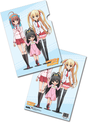 Listen To Me Girls Keyart File Folder (5 Pcs Pack), an officially licensed product in our Everything Else Stationery department.