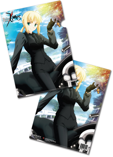Fate/Zero Saber File Folder (5 Pcs Pack), an officially licensed Fate/Zero product at B.A. Toys.