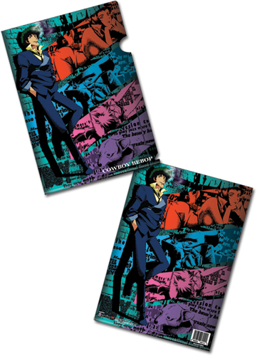 Cowboy Bebop Crew File Folder, an officially licensed product in our Cowboy Bebop Stationery department.