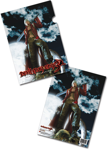 Devil May Cry Keyart File Folder, an officially licensed Devil May Cry Binder/ Folder