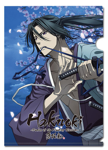 Hakuoki 1st Season Toshizou File Folder, an officially licensed Hakuoki Binder/ Folder