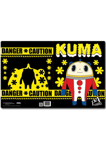 Persona 4 Kuma Pocket File Folder, an officially licensed product in our Persona Binders & Folders department.