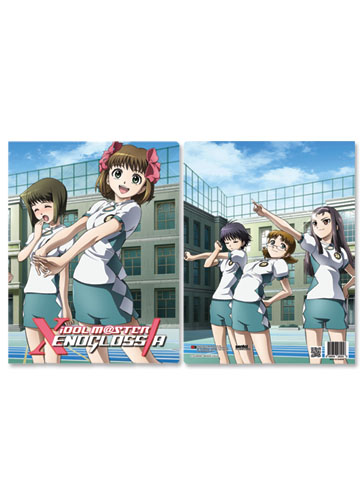 Idolmaster Xenoglossia Group Pocket File Folder, an officially licensed Idolmaster Binder/ Folder