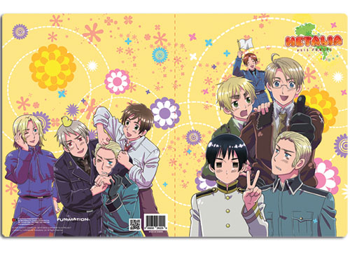 Hetalia Group Pocket File Folder, an officially licensed product in our Hetalia Stationery department.