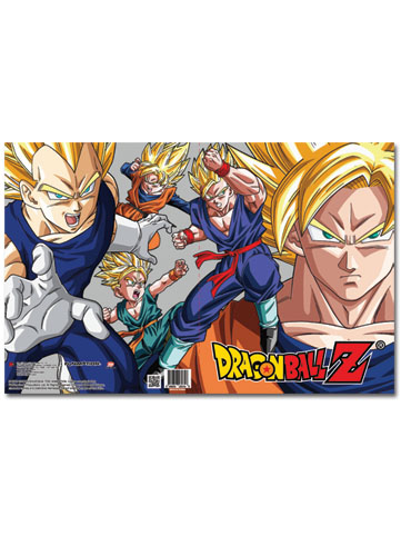 Dragon Ball Z Pocket File Folder, an officially licensed Dragon Ball Z Binder/ Folder