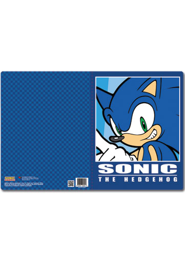 Sonic The Hedgehog Sonic Pocket File Folder, an officially licensed product in our Sonic Binders & Folders department.