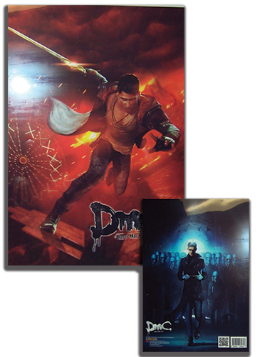 Devil May Cry Dante & Order File Folder (5 Pcs/set), an officially licensed Devil May Cry Binder/ Folder