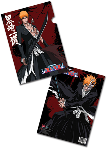 Bleach Ichigo File Folder (5 Pcs/Set), an officially licensed Bleach product at B.A. Toys.