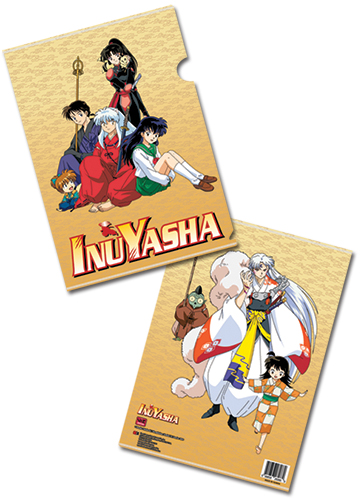 Inuyasha - Group File Folder officially licensed product at B.A. Toys.