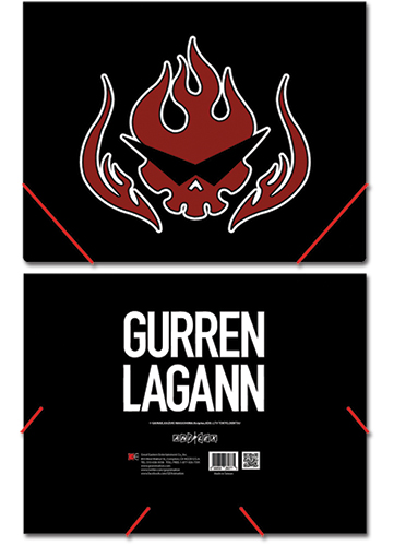 Gurren Lagann Symbol Elastic Band Document File Folder, an officially licensed product in our Gurren Lagann Binders & Folders department.