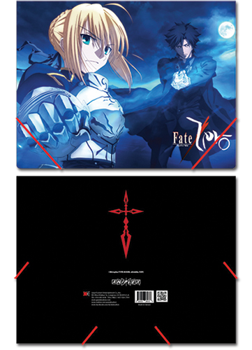 Fate/zero Group Elastic Band Document Folder