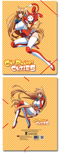 Cat Planet Cuties Eris Elastic Band Document Folder, an officially licensed Cat Planet Cuties Binder/ Folder