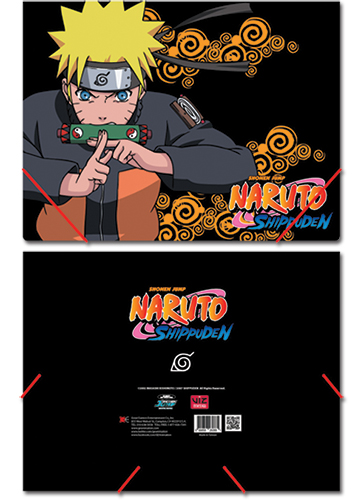 Naruto Shippuden Elastic Band Document Folder, an officially licensed product in our Naruto Shippuden Binders & Folders department.