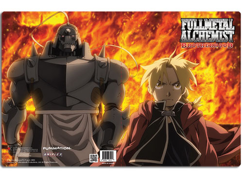 Full Metal Alchmist Brotherhood Group Pocket File Folder officially licensed product at B.A. Toys.