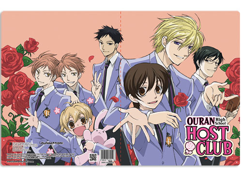Ouran High School Host Club Group Pocket File Folder, an officially licensed product in our Ouran High School Host Club Binders & Folders department.