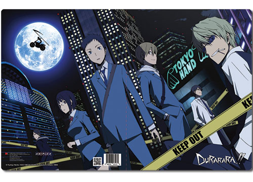 Durarara!! Group Pocket File Folder officially licensed product at B.A. Toys.