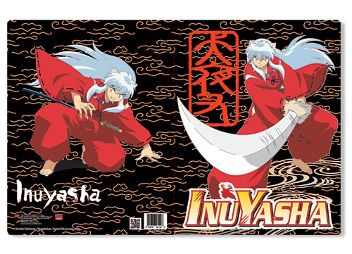 Inuysha Inu Yasha Pocket File Folder officially licensed product at B.A. Toys.