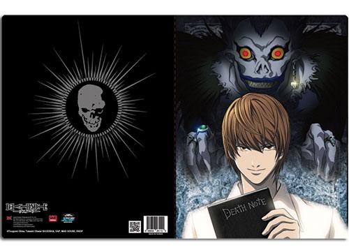 Death Note Group Pocket File Folder, an officially licensed Death Note Binder/ Folder