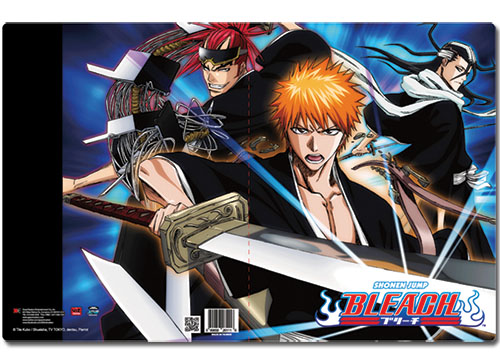 Bleach Group Pocket File Folder, an officially licensed product in our Bleach Binders & Folders department.