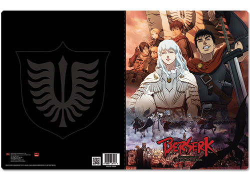 Berserk Group Pocket File Folder officially licensed Berserk Binders & Folders product at B.A. Toys.