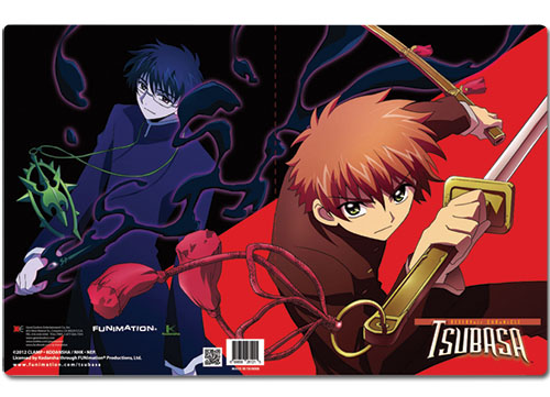 Tsubasa Syaoran & Watanuki Pocket File Folder, an officially licensed product in our Tsubasa Binders & Folders department.