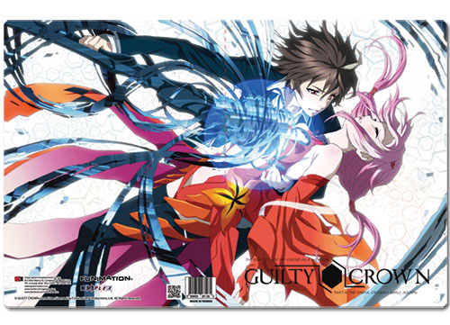 Guilty Crown Shu& Inori Pocket File Folder, an officially licensed product in our Guilty Crown Binders & Folders department.