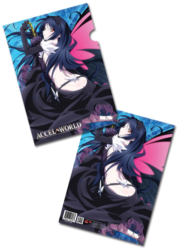 Accel World Kuroyukihime File Folder (5 Pcs/Set), an officially licensed product in our Accel World Binders & Folders department.