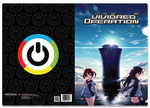 Vividred Operation Akane & Aoi File Folder, an officially licensed product in our Vividred Operation Stationery department.