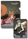 Spice And Wolf Kraft & Holo File Folder, an officially licensed product in our Spice & Wolf Stationery department.