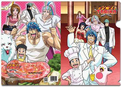 Toriko Group File Folder officially licensed product at B.A. Toys.